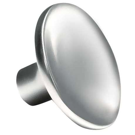 CURVED ROUND Polished Chrome, Part# 3270 — Knob: S